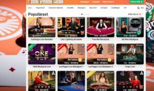 Leovegas Live Casinospel