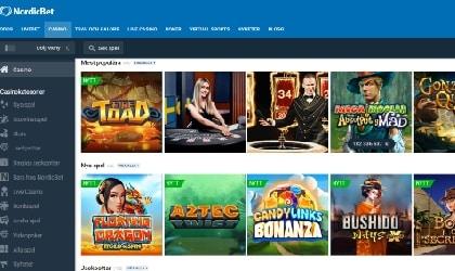 Nordicbet Casinospel